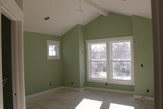 kittery point green benjamin moore paint - living room but a bit lighter