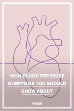 Here's what you need to know about high blood pressure and how it may present in those affected by it. #highbloodpressure #hearthealthy High Blood Pressure Causes, Blood Pressure Symptoms, Severe Headache, Gym Workout Videos, Medicine Doctor, American Heart Association, Blood Vessels, Healthier You