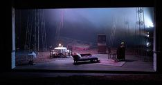 Richard Evans - The Seagull. Act York Theatre Royal. Photo by Kai Fischer. Tv Set Design, Set Design Theatre, Stage Lighting Design, Stage Design, Theater, Design Research, Stage Set, Scenic Design, Installation Art