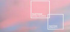 Trendfarben 2016: Rose Quartz und Serenity