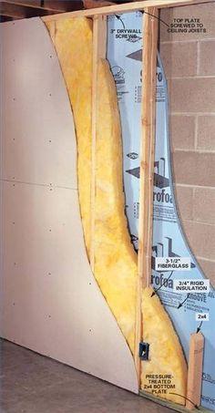 Basement Frame Wall