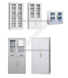 Office Swing Door Steel Cupboard with Four Shelves Steel Cupboard, Locker Storage, Shelves, Doors, Furniture, Home Decor, Steel Wardrobe, Shelving, Decoration Home