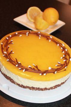 Sitruunajuustokakku (oma) cheesecake
