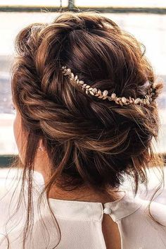 15 Ideas of Long Hair Updos for Your Next Glam Event ❤ Fishtail Crown Braided Updo picture1 ❤ See more: http://lovehairstyles.com/long-hair-updos-styles/