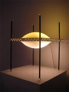 1957, Ettore Sottsass - UFO lamp Arredoluce | Table Light