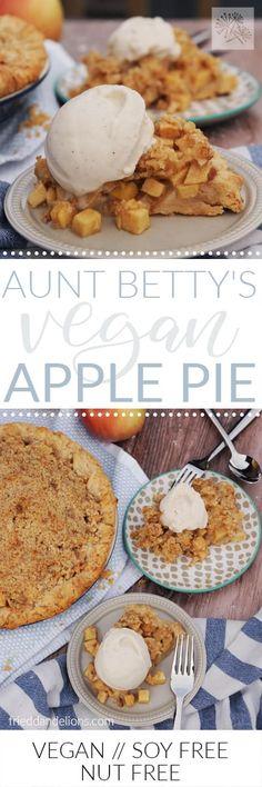 Vegan Apple Pie is t