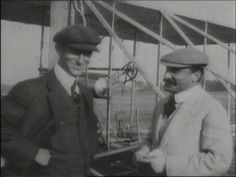 Wright Brothers First Flight, 1903 - Orville and Wilbur Wright's first recorded flight caught exclusively by British Pathé in 1903. On December 17, news came through that two brothers had flown a curious air machine for more than a minute. To the sceptics, this footage proved that it was true.