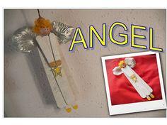 ANGEL DE PALOS DE HELADO