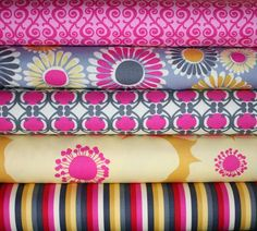 ORGANIC Free to Grow fabric bundle by Nancy Mims for Robert Kaufman -Fat…