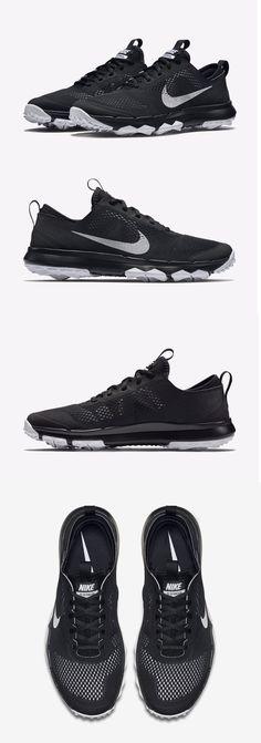 a88e3b1e7b45 Golf Shoes 181136  Nib Mens Nike Fi Bermuda Black White Rory Mcilroy Spikeless  Golf Shoes