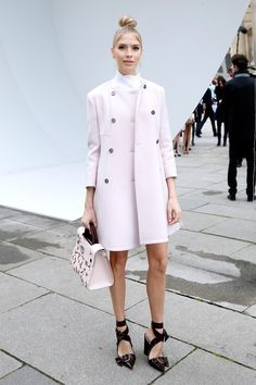What They Wore: Paris Fashion Week Edition via @WhoWhatWear