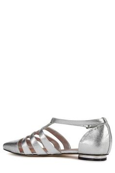 51754a652b53d Buy Women s footwear Shoes Silver Flat from the Next UK online shop