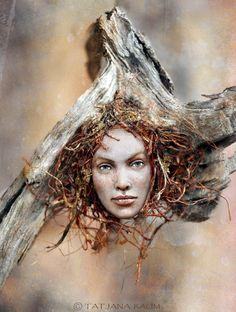 Wooden spirit Simona