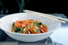Quick-Cooking Carrot Ribbons to One-Up Your Zucchini Noodles more at my site You-be-fit.com