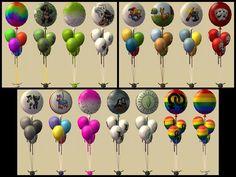 Mod The Sims - Poppin' Party Balloon Centerpiece Recolours - Part 2