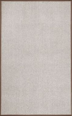 Bought- $92 Rugs USA For Entry Rug 5x8 Cap-Rouge Faux Sisal Dirt Resistant LV02A Rug - much contrast from floor - put outside