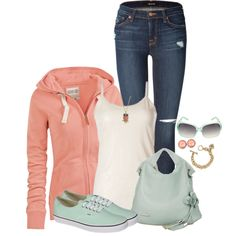 """""""Candy Casual"""" by angelysty on Polyvore"""