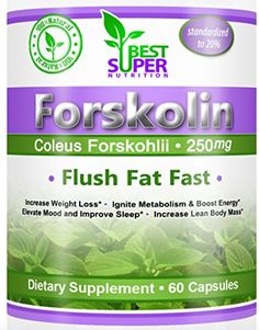 Forskolin. Belly Fat Burner - Weight Loss Pills Mentioned by America's Favorite Dr - 100% Money Back Guarantee! Standardized to 20%. 250mg Supplements - Carb Blocker - All Natural Mood Enhancer & Appetite Suppressant - No Jitters - Pure Coleus Forskohlii Root Extract - 100% Natural. Veggie Capsules Yielding 50mg Active Forskolin. 60 Pills. Best Fast Way to Lose Quick. Melt Stomach Fat - Burn The Fat, Leave the Muscle. Are You Ready To Increase Your Weight Loss, Ignite Your Metabolism, Boost…