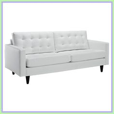 Tips That Help You Get The Best Leather Sofa Deal. Leather sofas and leather couch sets are available in a diversity of colors and styles. A leather couch is the ideal way to improve a space's design and th Modern White Leather Sofa, Best Leather Sofa, Modern Couch, White Bedroom Furniture, Couch Furniture, Leather Furniture, Modern Furniture, Kids Furniture