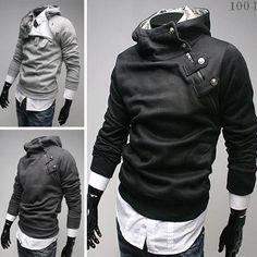 2014 Fashon New Coats Men,Outerwear Men's Hoodie Jacket Coat,Warm Slim Autumn&Winter Outerwear Clothing Men,Drop&Free Shipping $12.88