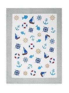 e20590016a0c Bavlnené utierky na riad sivo bielej farby Výzdoba Domácnosti