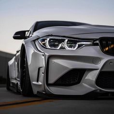 BMW 3 series grey widebody slammed - - All about BMW ! Bmw M4, E60 Bmw, Luxury Sports Cars, Sport Cars, Bmw Autos, Supercars, Dream Cars, Carros Bmw, Bmw M Series