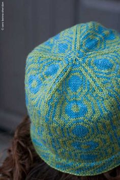 Moxie Colorwork Hat from Twist Collective