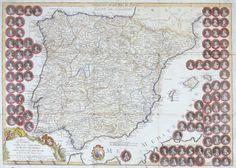 El reyno de España dividido en dos grandes estados de Aragón y de Castilla,subdividido en muchas provincias, donde se halla tambien el Reino de Portugal.-- Paris: Casa de L. Mondharo, 1809 www.villadeorgaz.es