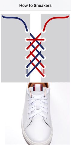 Welcome to Tommy Hilfiger. Diy Fashion, Fashion Shoes, Fashion Outfits, Womens Fashion, Ways To Lace Shoes, Mode Shoes, Tie Shoelaces, Lace Sneakers, Leather Sneakers