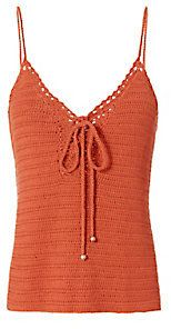 Exclusive for Intermix Cheyenne Crochet Tank Crochet Tank, Camisole Top, Just For You, Tank Tops, Stylish, Women, Fashion, Moda, Halter Tops
