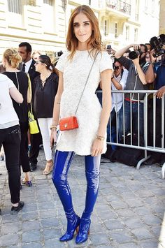 The Best Celebrity Looks From Couture Week All in One Place via @WhoWhatWear- Chiara Ferragni