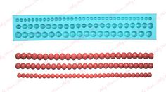 Perfect Pearls 10 8 6 mm Silicone Gum Paste Mold Fondant Cake Decorating Tools | eBay