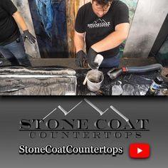 Granite Tile Countertops, Refinish Countertops, Diy Resin Wood Table, Shower Backsplash, Rustic Pendant Lighting, Diy Epoxy, Resin Tutorial, Epoxy Floor, Kitchen Redo