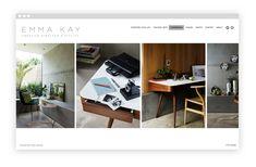Interior Design Portfolio Website Examples We Love Interior Design Portfolios, Interior Design Website, Interior Design Tips, Luxury Interior, Decorating On A Budget, Interior Decorating, Interior Presentation, Portfolio Website Design, Interior Stylist