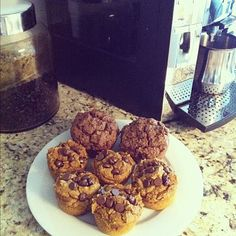 Healthy Pumpkin Chocolate chip muffins!