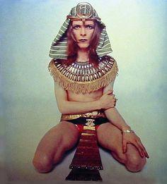 David Bowie egiziano (1969).