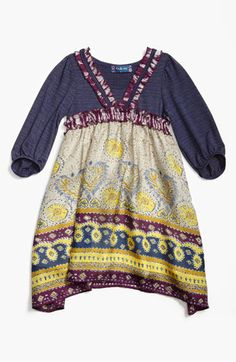 Truly Me Knit Dress (Little Girls & Big Girls) available at #Nordstrom