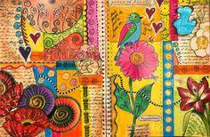 LINDA KITTMERS FIBRE ART, PHOTOGRAPHY & JOURNALLING: Doodling Your Way...