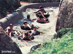 River Country at Walt Disney World- this was my favorite.. the White Water Rapids..... we would go on it time after time!