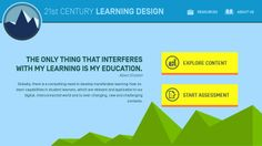 21st Century Learning Design app // Students around the world need advanced skills to succeed in the globalized, knowledge based world of today. 21st Century Learning Design, or 21CLD, professional development helps teachers design lessons and learning activities to build students' 21st century skills. The program is based on rubrics developed and tested in one of the largest ever international studies of 21st Century Skills