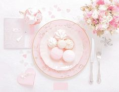 Ana Rosa, kiyumie: Bridal and wedding table - My edit Pretty Pastel, Pastel Pink, Unicorn Foods, Rosa Pink, Pink Images, Rainbow Food, Cute Desserts, Everything Pink, Pink Princess