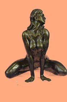 European Bronze Sculpture Signed Original Artist Odegard Nude Erotic Female Sexy Bronze Sculpture Statues Figurine Nude Office & Home Décor Collectibles Sale Deal Gifts Bronze Sculpture, Sculpture Art, Sculptures, Statues, Cast Art, Wood Carving Art, Classic Paintings, Fantasy Art, Erotic