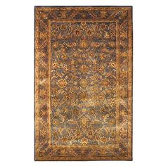 Found it at Wayfair - Dover Blue & Gold Rug