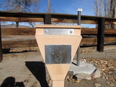 Pony Express Marker, Buckland Station, Carson River, Nevada | Flickr - Photo Sharing!