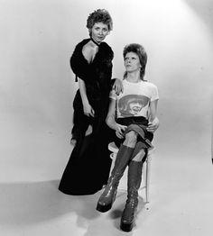 David Bowie and Lulu