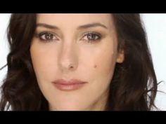 "Makeup Tutorial vid: ""Modern Heavy Natural"" in Brown Tones, by #Lisa_Eldridge"