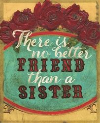 THERE IS NO BETTER FRIEND THAN A SISTER by melody ross