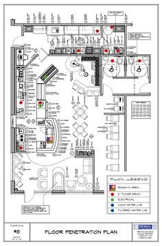 Restaurant Kitchen Layout Plans restaurant floor plan symbols | japonês restaurante | pinterest