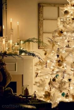 Craftberry Bush: A Christmas mantel