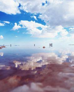 Tuz Lake Turkey #latergram #tuzlake #turkey #saltlake #passionpassport by felecool